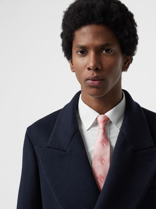 Modern Cut Archive Scarf Print Silk Tie in Pale Pink - Men | Burberry United States - cell image 2