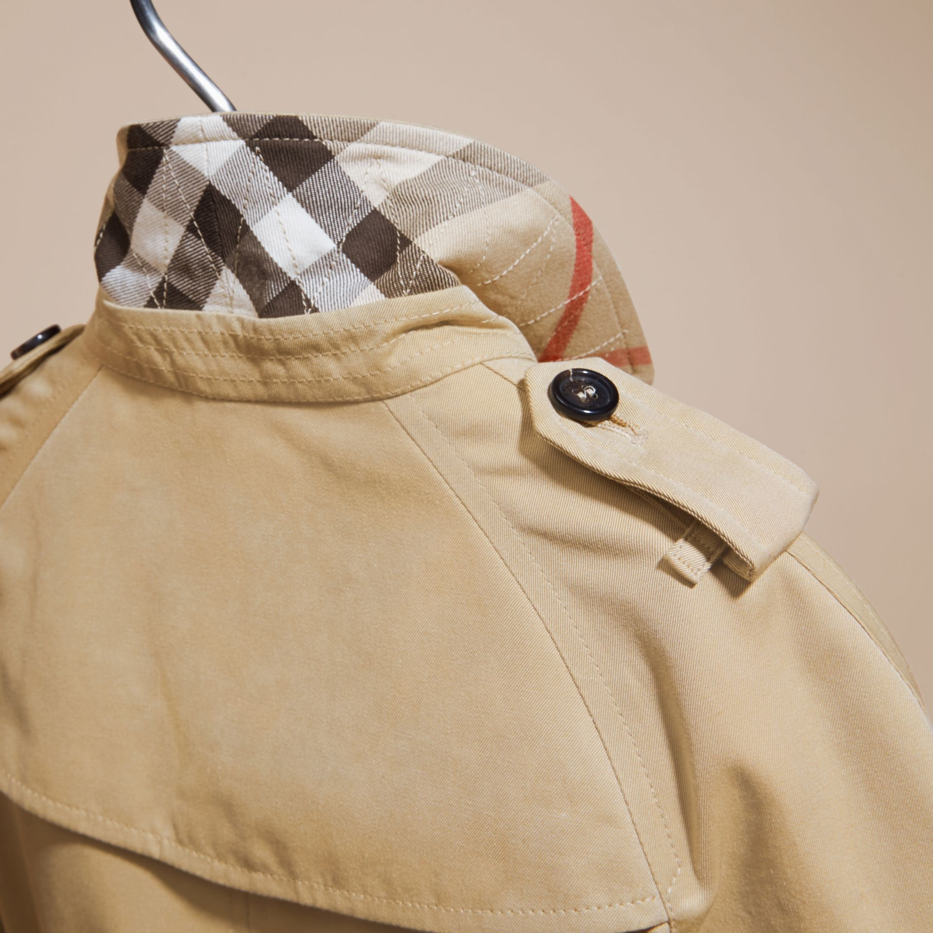 The Wiltshire – Heritage Trench Coat in Honey - gallery image 5
