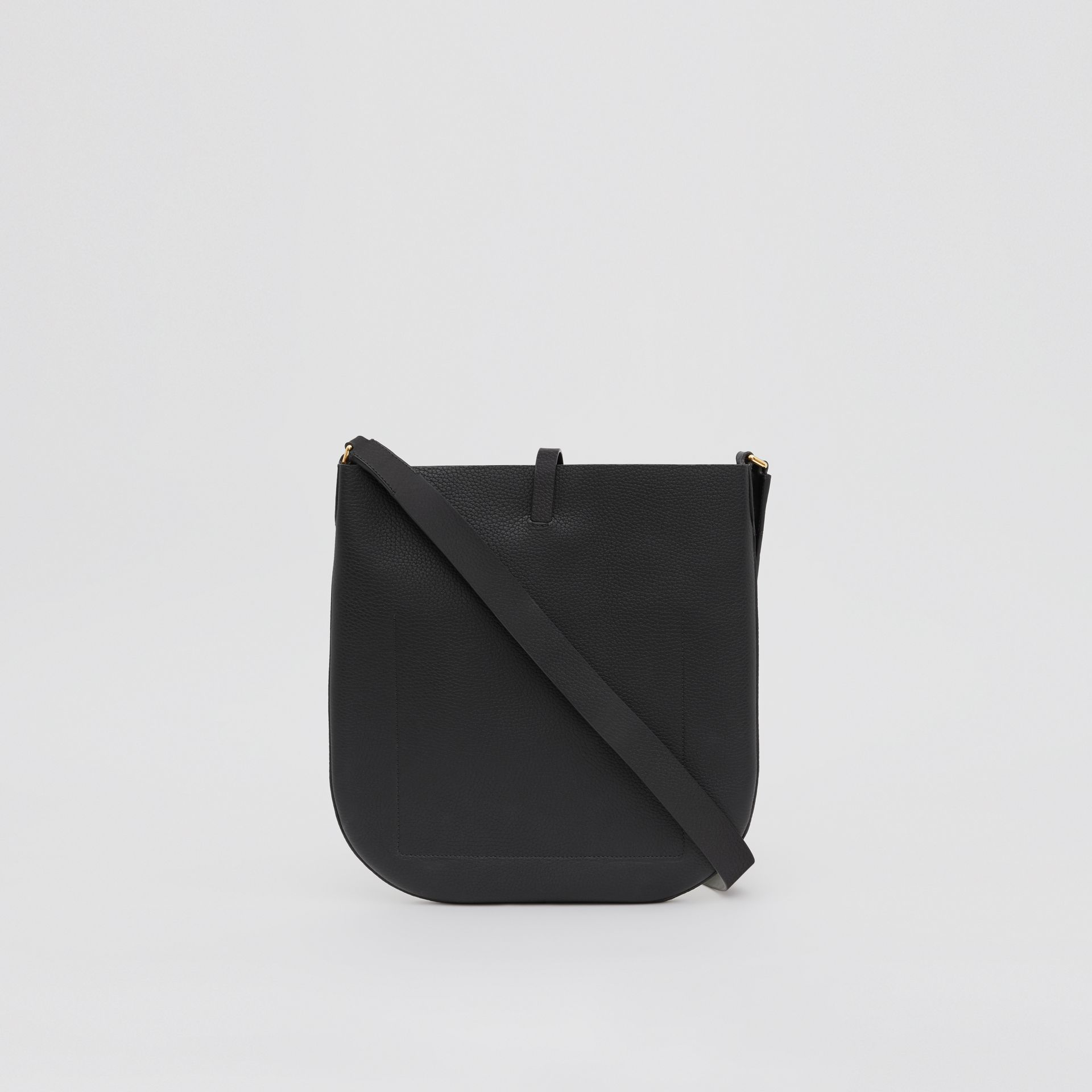 Grainy Leather Anne Bag in Black - Women   Burberry United Kingdom - gallery image 7