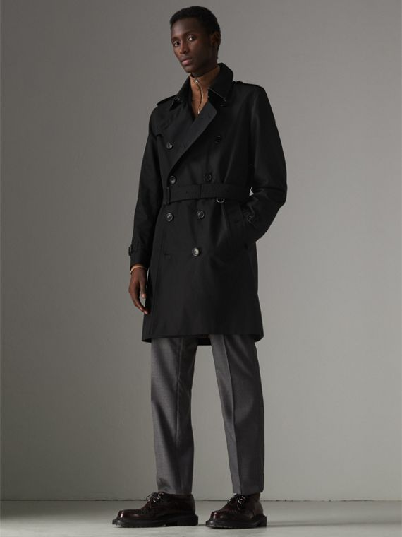 Trench coat Heritage The Kensington (Nero)