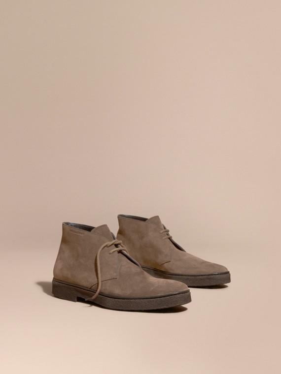 Crepe Sole Suede Desert Boots
