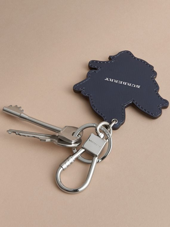 Beasts Leather Key Ring in Tan - cell image 3