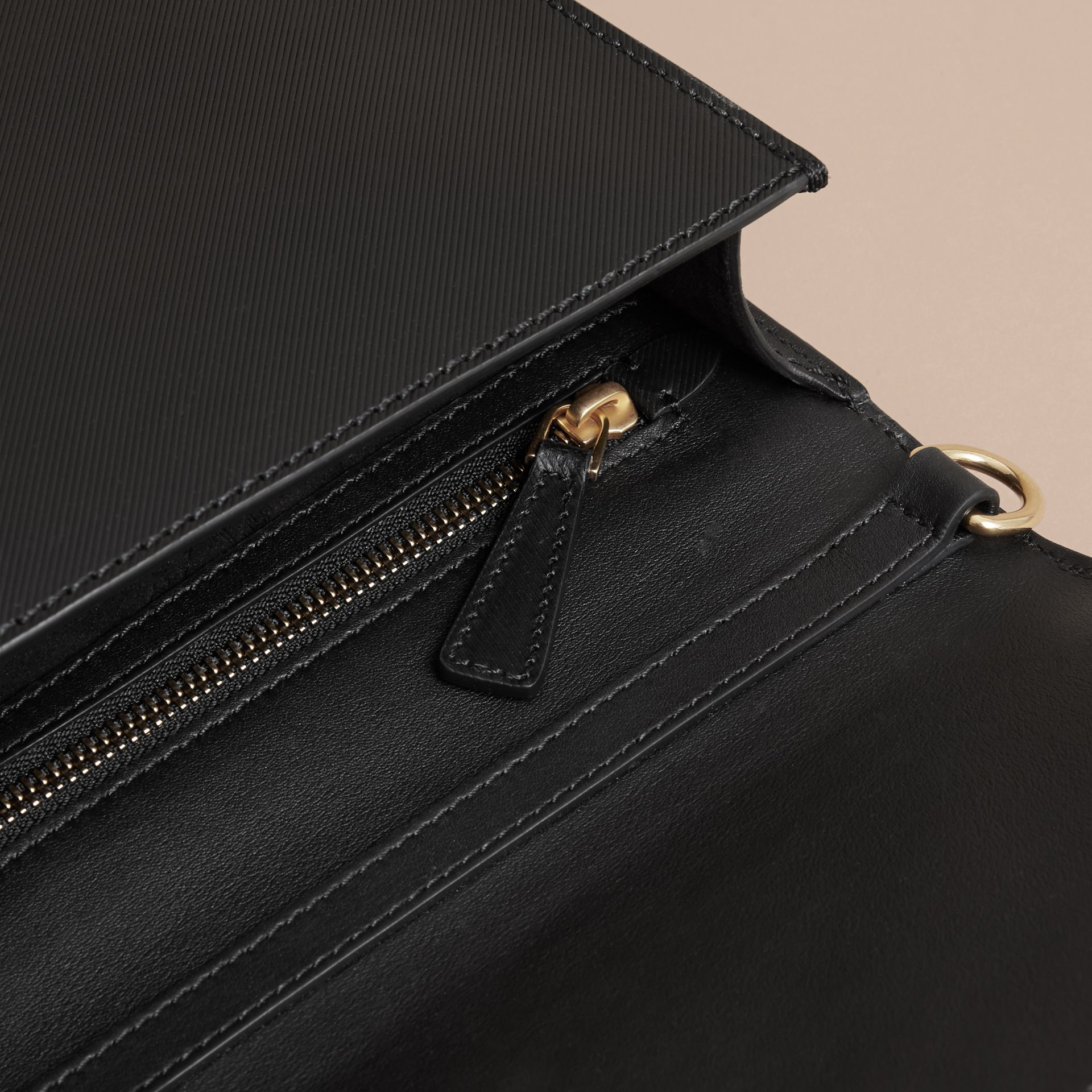 The Large DK88 Document Case in Black - Men | Burberry - gallery image 6