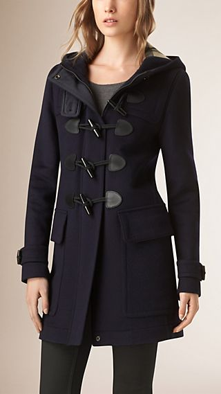 Straight Fit Duffle Coat