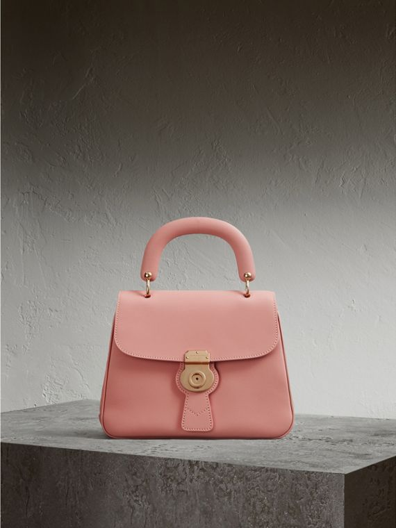 The Medium DK88 Top Handle Bag in Ash Rose