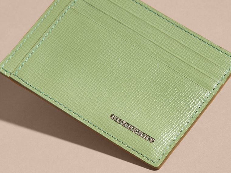 London Leather Card Case in Antique Green - cell image 4