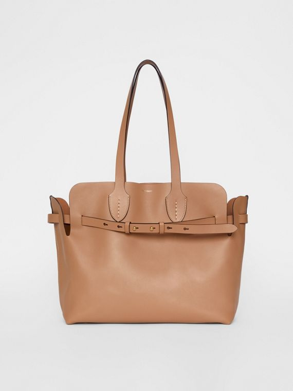 The Medium Soft Leather Belt Bag in Light Camel
