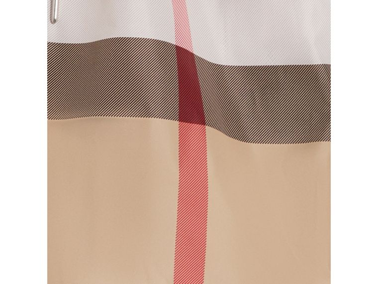 Check Drawcord Swim Shorts in Camel - Men | Burberry Hong Kong - cell image 1