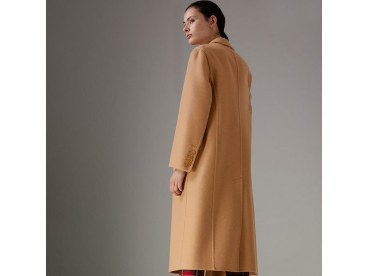 Double Camel Hair Tailored Coat - Women | Burberry Singapore - cell image 4