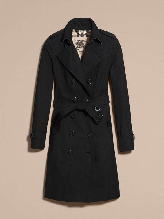 Noir The Sandringham – Trench-coat Heritage extra-long Noir - cell image 3