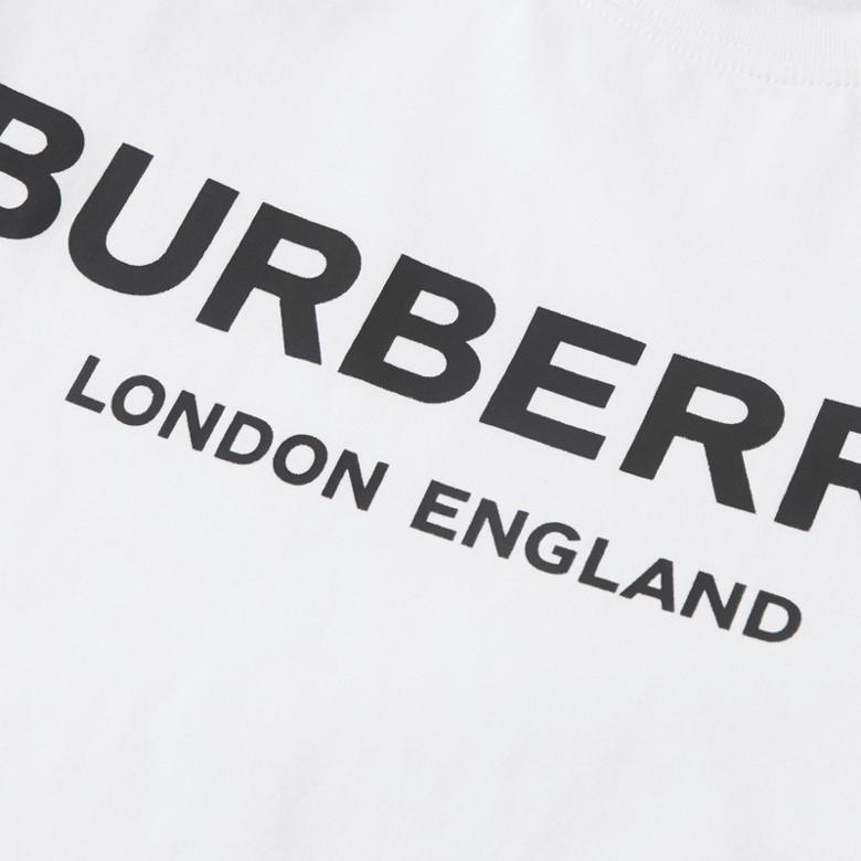 Burberry - T-shirt en coton avec logo imprimé - 2