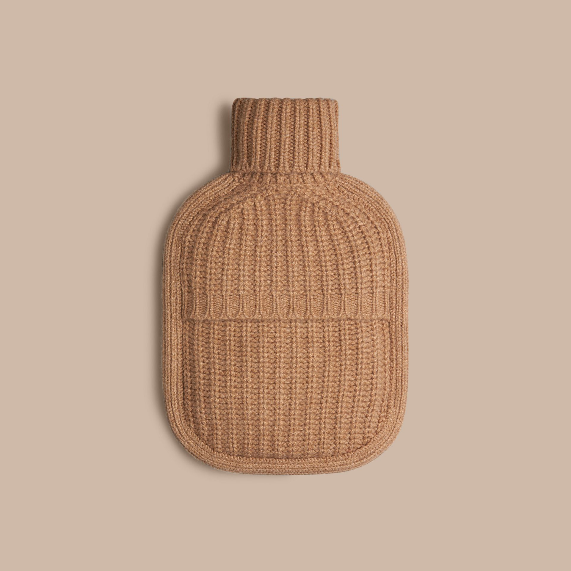 Camel Cashmere Hot Water Bottle Cover Camel - gallery image 2
