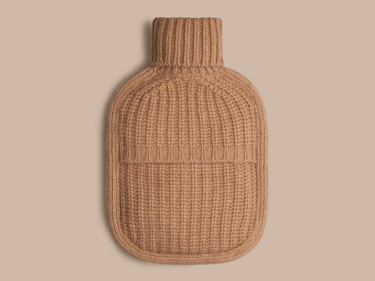 Camel Cashmere Hot Water Bottle Cover Camel - cell image 1
