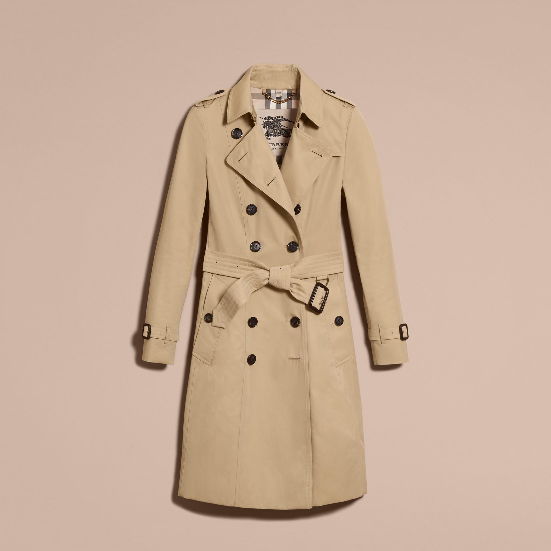 Miele The Chelsea - Trench coat Heritage lungo Miele - immagine della galleria 4