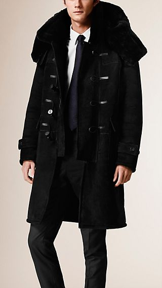 Duffle-coat en shearling
