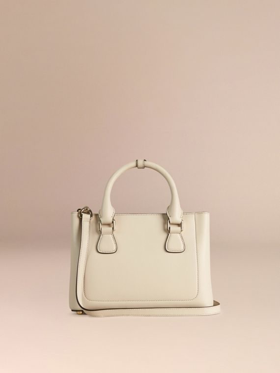 Stone The Small Saddle Bag in Smooth Leather and Python - cell image 3