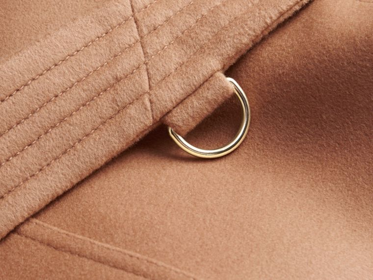 Wool Cashmere Trench Coat in Camel - Women | Burberry Canada - cell image 1