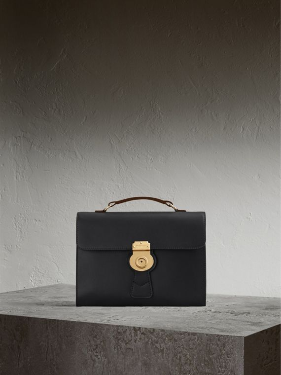 The DK88 Document Case in Black - Men | Burberry Singapore