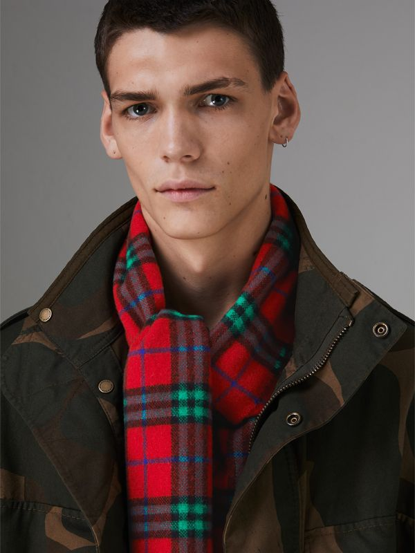Check Cashmere Scarf | Burberry Hong Kong - cell image 3