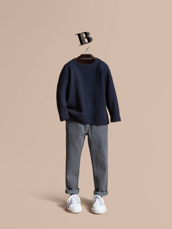 Skinny Fit Stretch Denim Jeans - Boy | Burberry Hong Kong