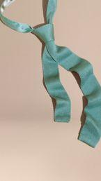 Slim Cut Knitted Silk Tie