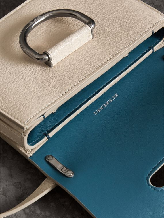 The Mini Leather D-Ring Bag in Stone - Women | Burberry - cell image 3