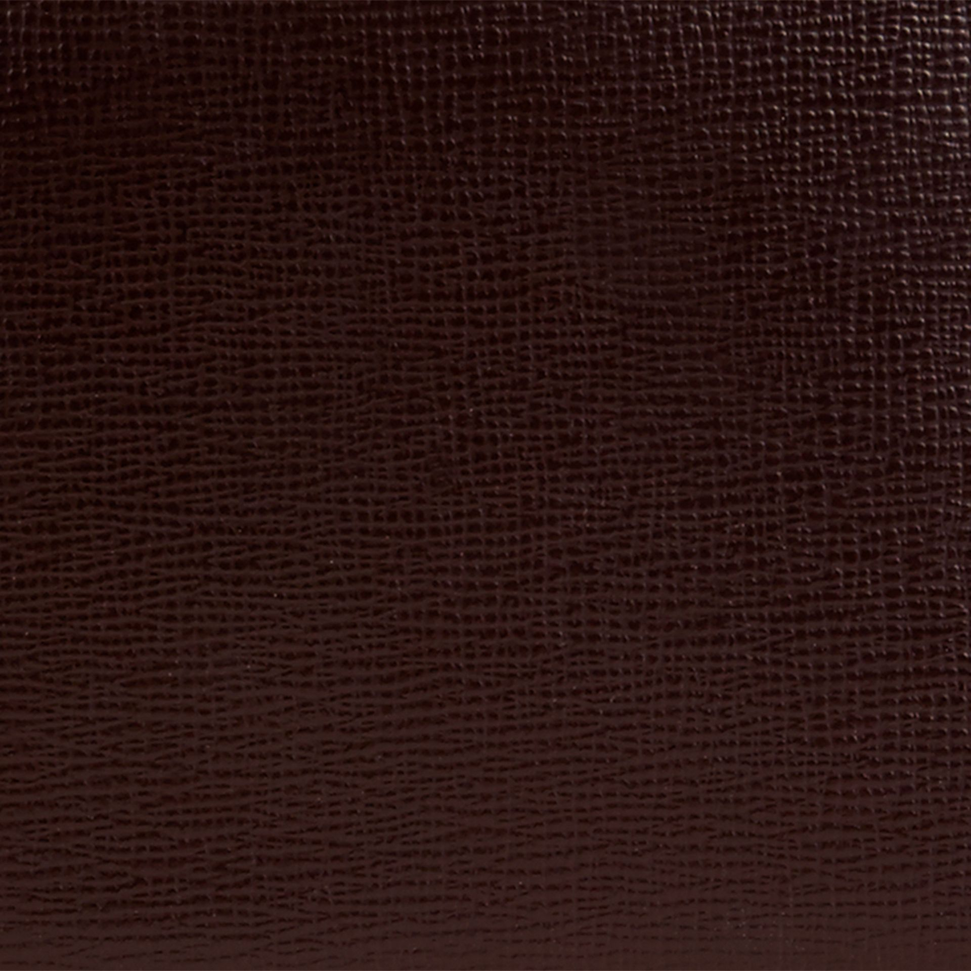 Wine London Leather ID Wallet Wine - gallery image 2