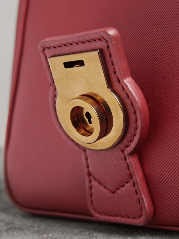 The Small DK88 Top Handle Bag in Antique Red - Women | Burberry - cell image 1