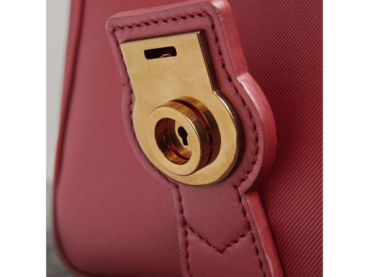The Small DK88 Top Handle Bag in Antique Red - Women | Burberry Singapore - cell image 1