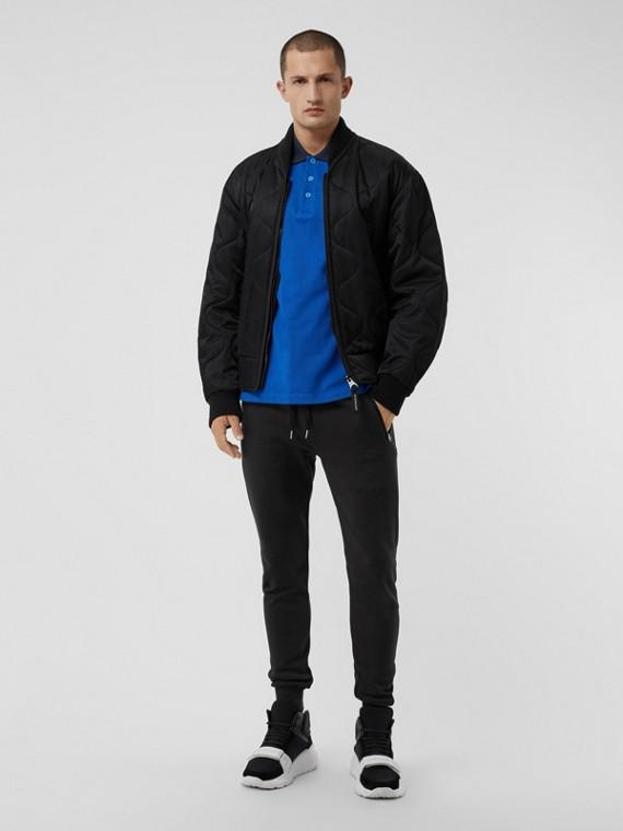 Pantalon de survêtement en coton (Noir)