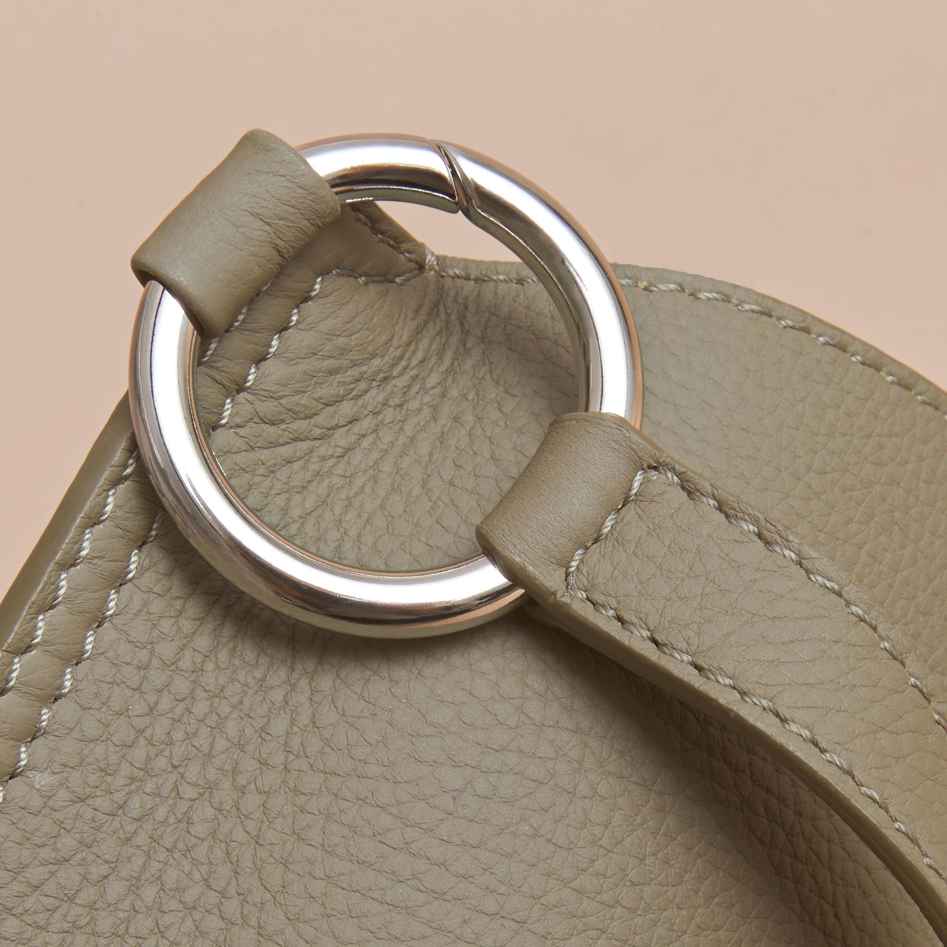 The Bridle Crossbody Bag in Deerskin in Slate Green - Women | Burberry Australia - gallery image 2