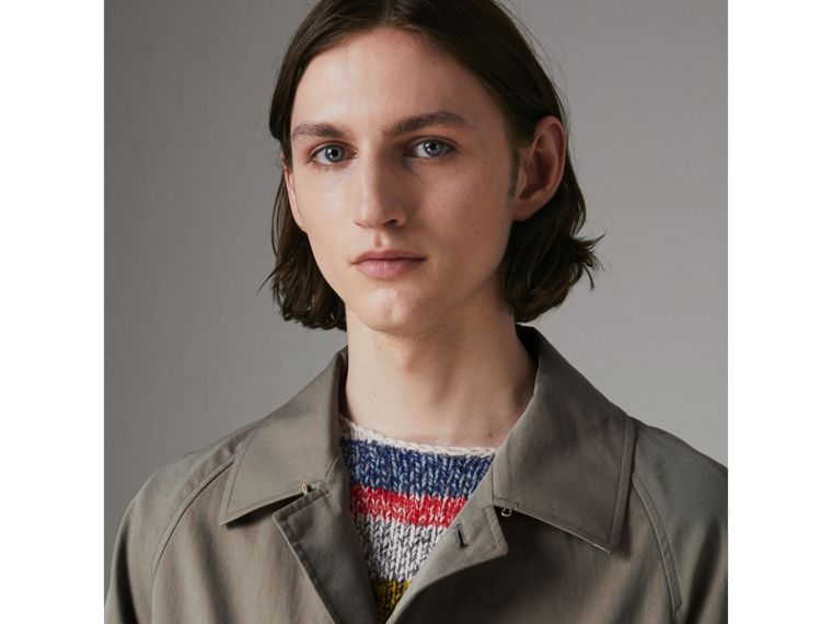 The Camden Car Coat in Chalk Green - Men | Burberry - cell image 1