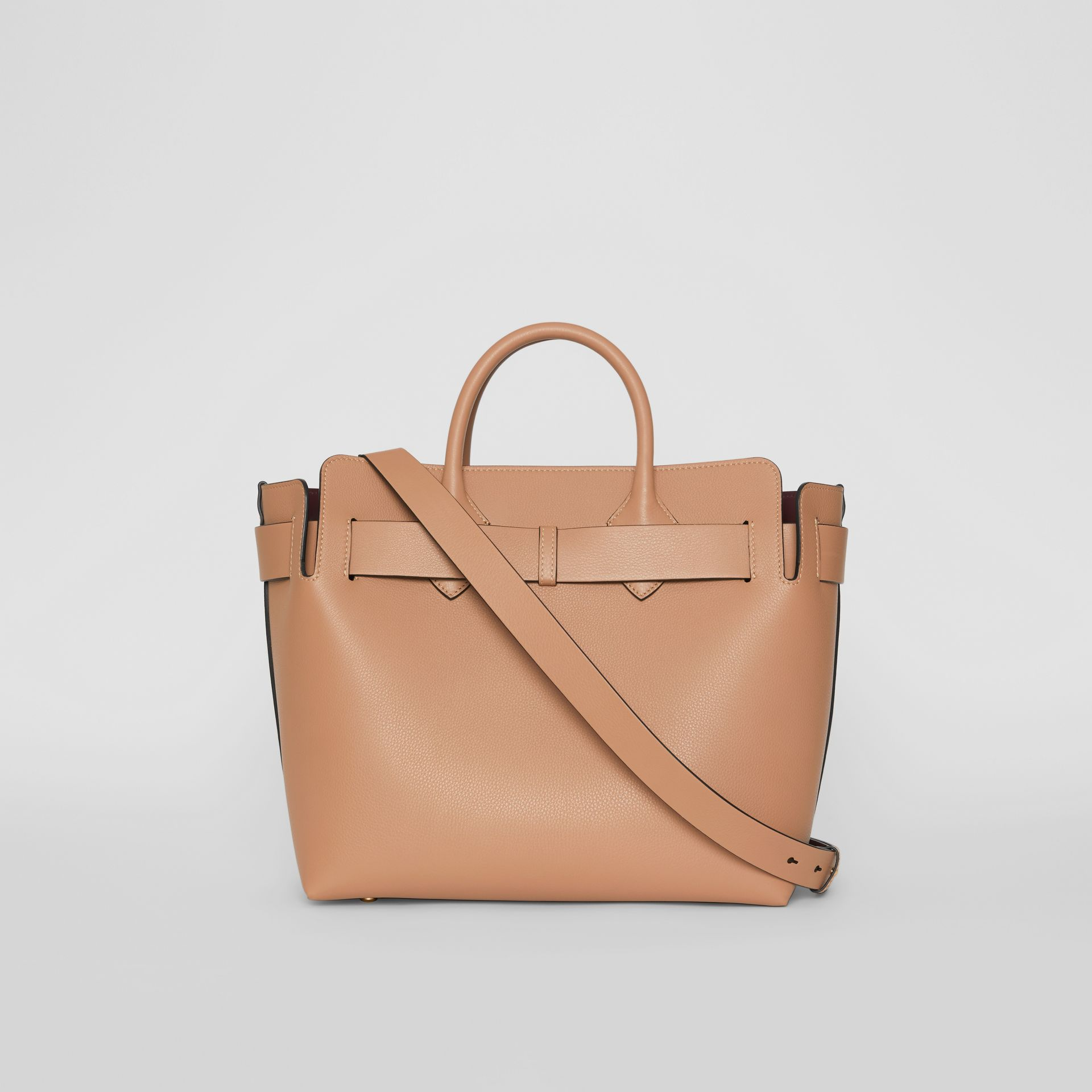 The Medium Leather Triple Stud Belt Bag in Light Camel - Women | Burberry Singapore - gallery image 7