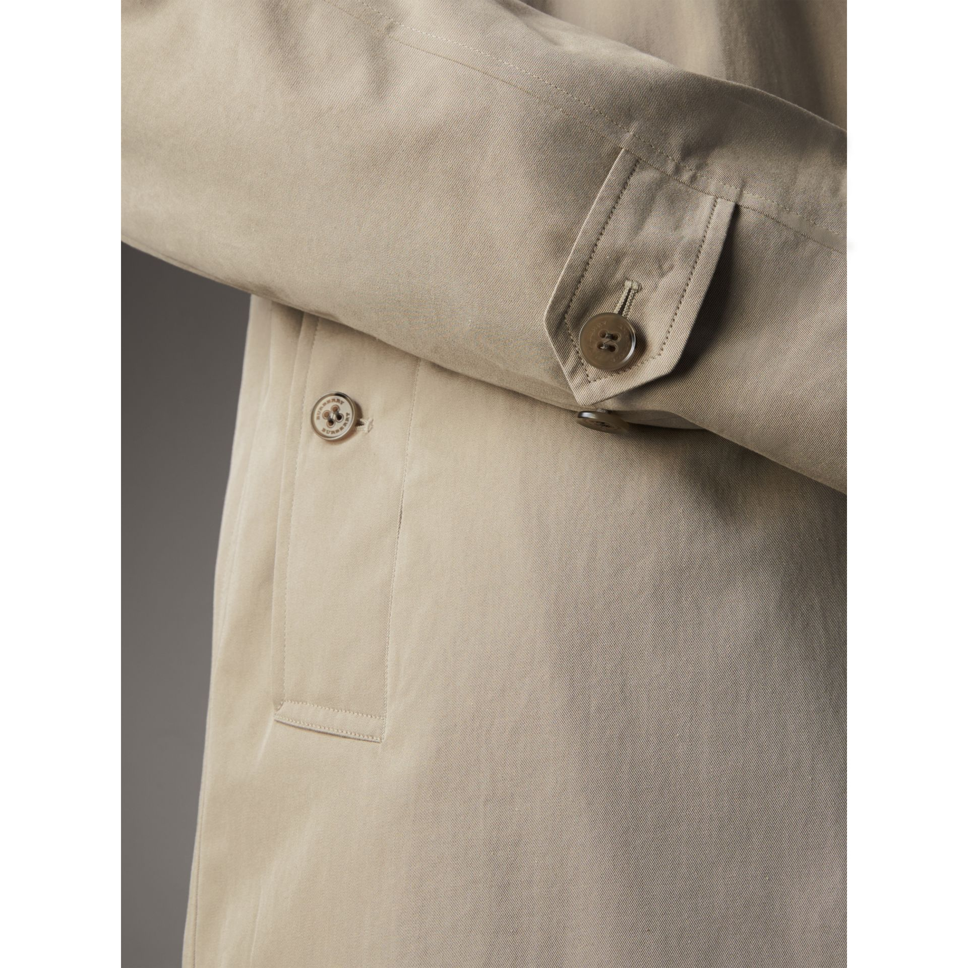 The Camden – Mid-length Car Coat in Sandstone - Men | Burberry - gallery image 5