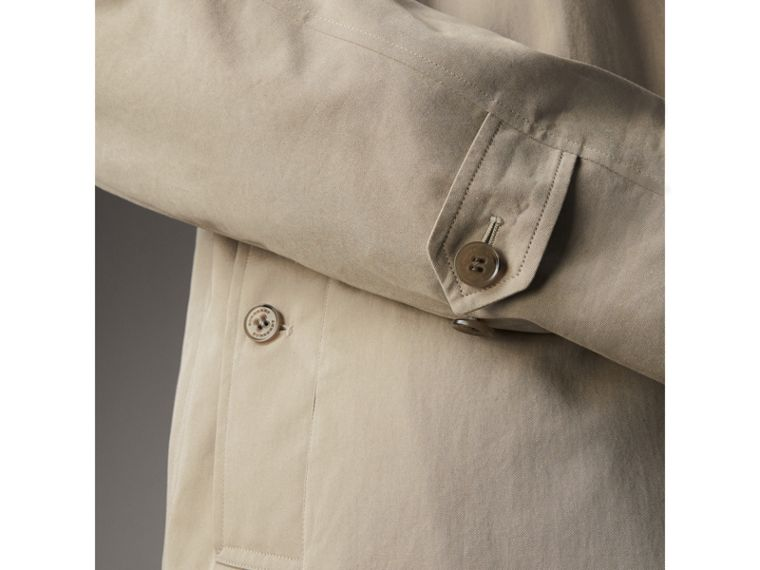 The Camden Car Coat in Sandstone - Men | Burberry - cell image 4