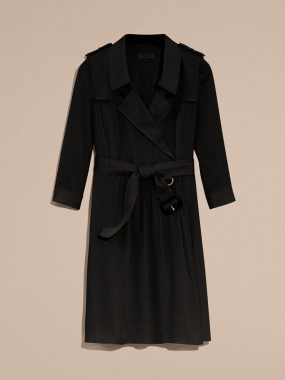 Trenchkleid aus Seide (Schwarz) - Damen | Burberry - cell image 3