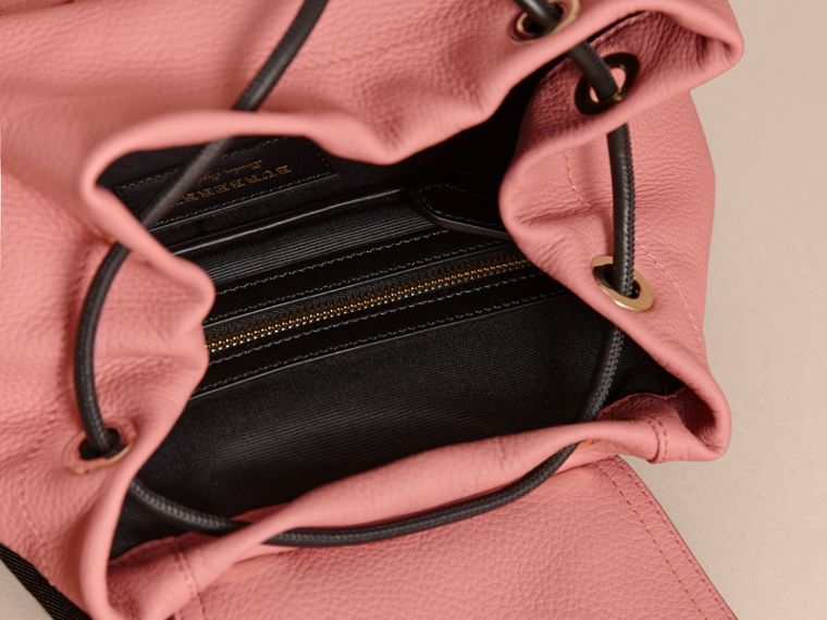 The Medium Rucksack in Deerskin with Resin Chain in Blossom Pink - Women | Burberry Singapore - cell image 4