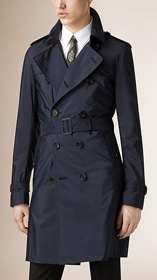 Trench-coat imperméable avec gilet intérieur détachable