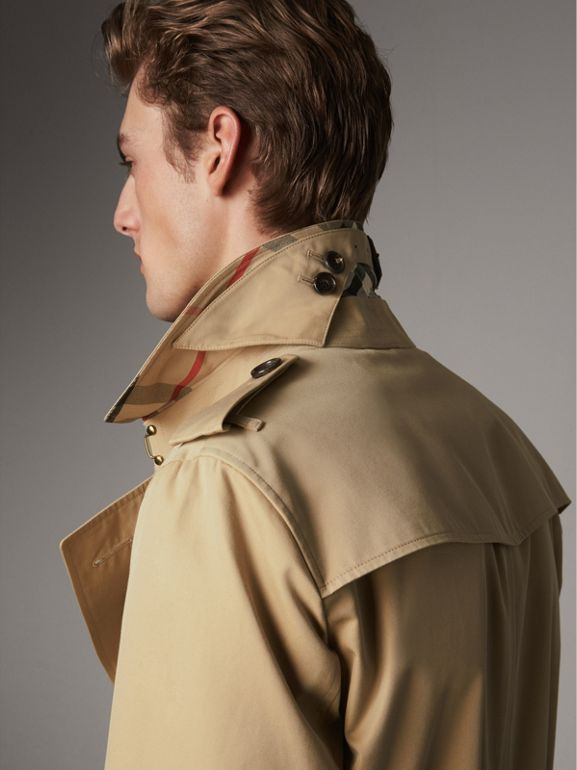 The Chelsea – Mid-length Trench Coat in Honey - Men | Burberry United States - cell image 1