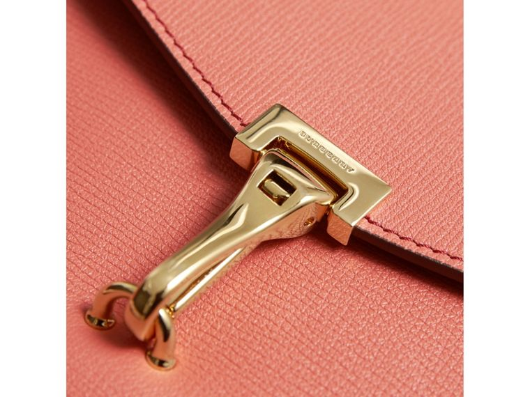 Small Leather Crossbody Bag in Cinnamon Red - Women | Burberry - cell image 1