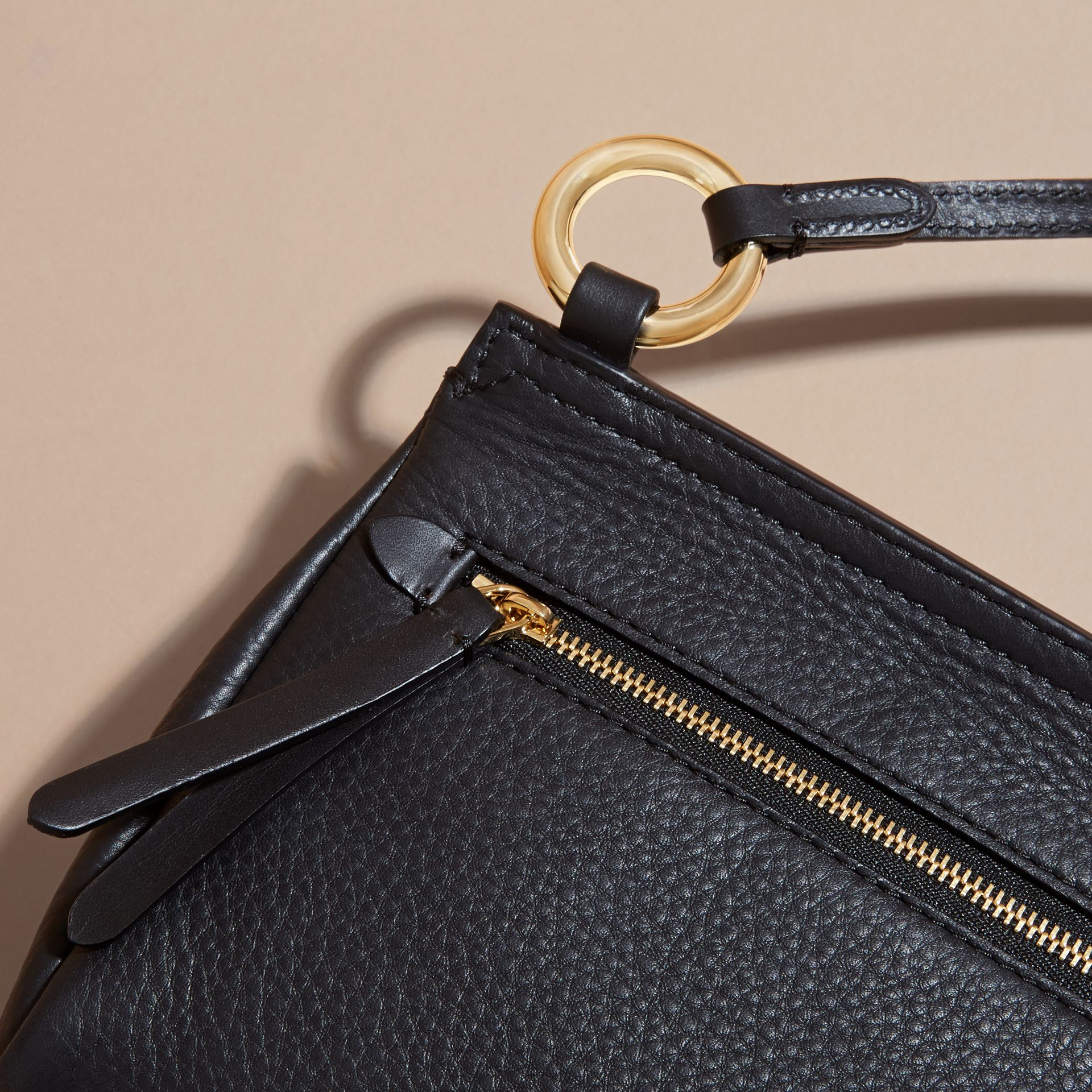The Baby Bridle Bag in Leather in Black - gallery image 7
