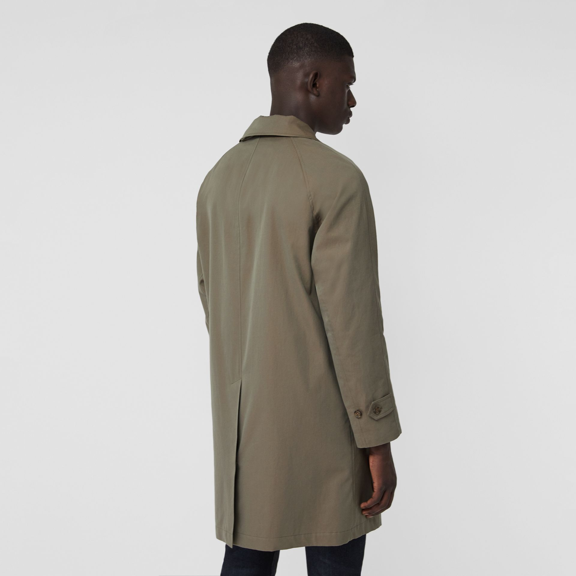 The Camden Car Coat in Chalk Green - Men | Burberry - gallery image 2