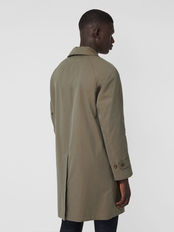 The Camden Car Coat (Verde Gesso) - Uomo | Burberry - cell image 2