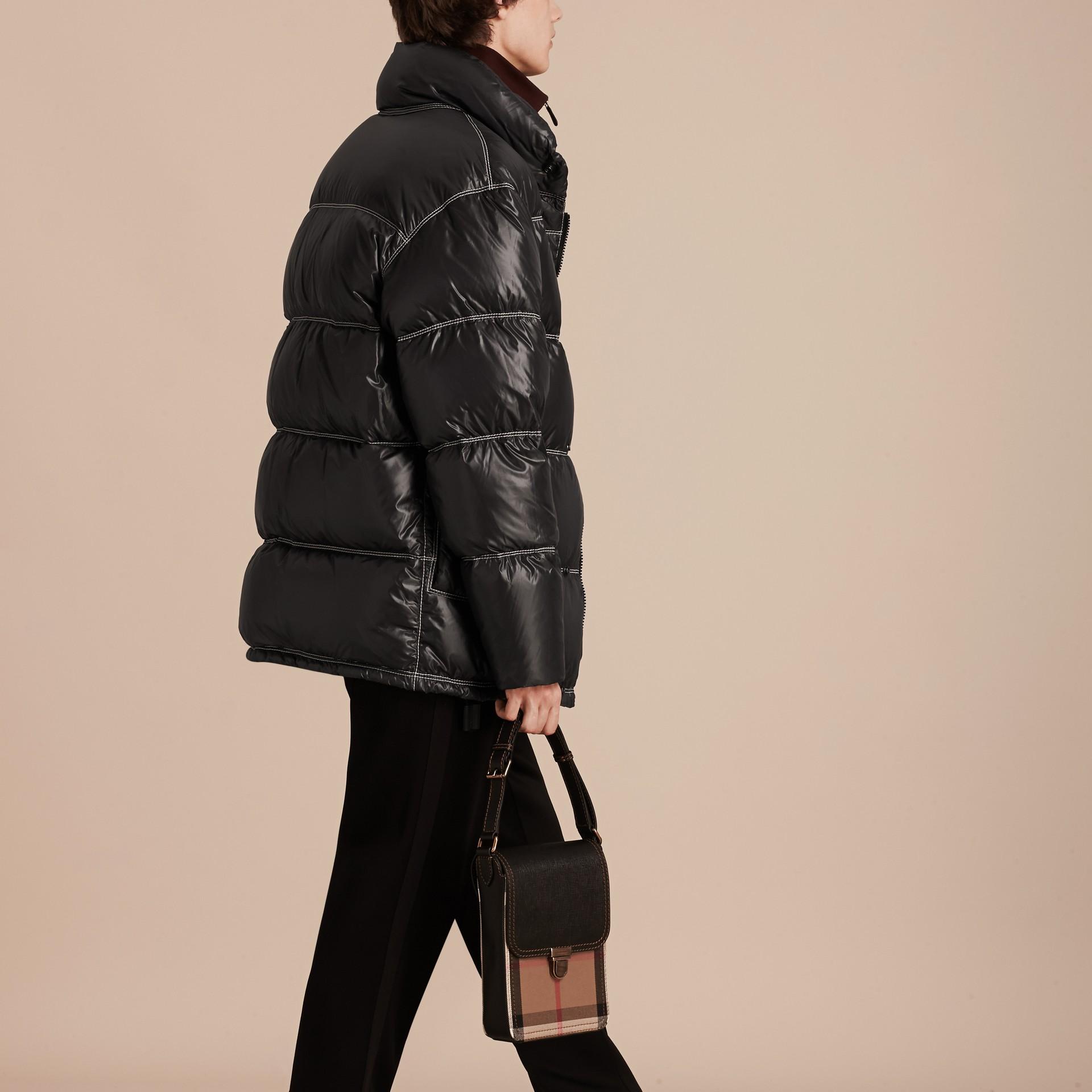 Черный Пальто на пуху - изображение 3