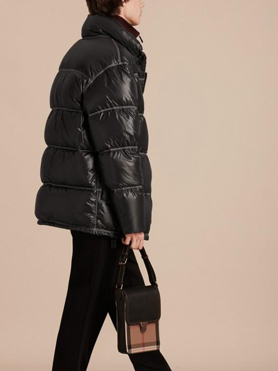 Черный Пальто на пуху - cell image 2