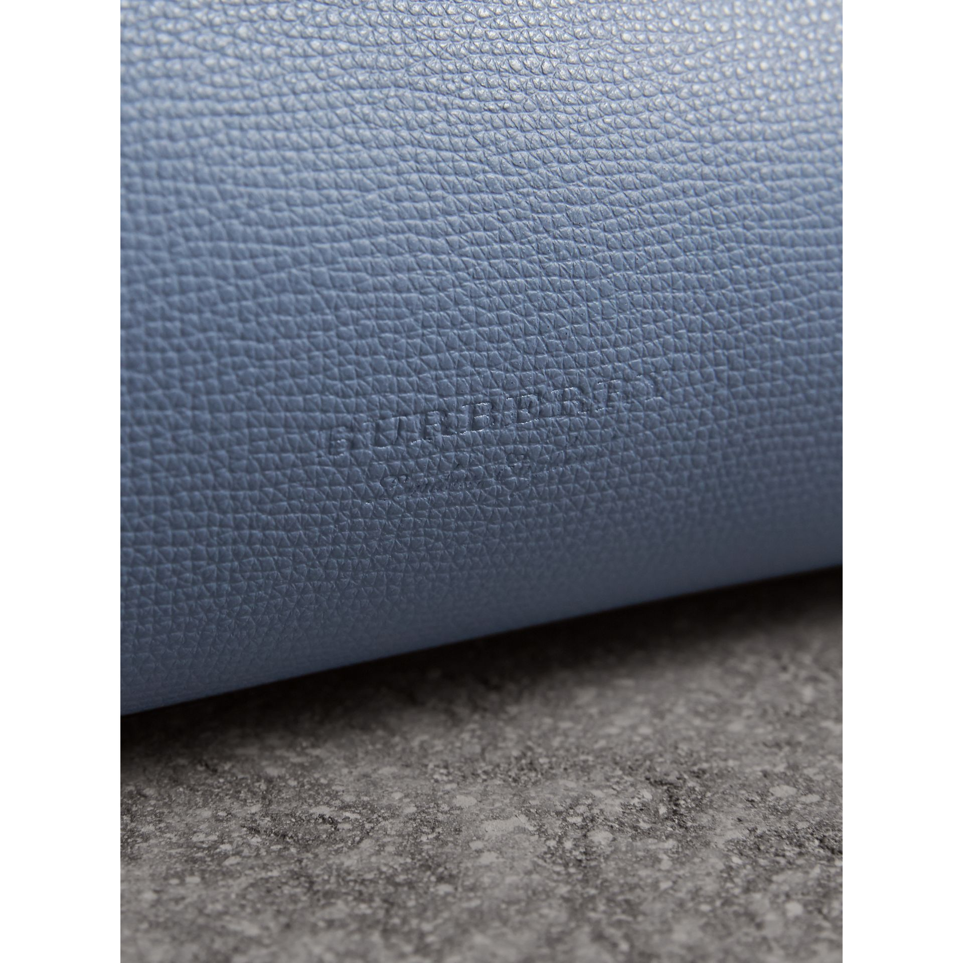 The Medium Reversible Tote with Resin Chain in Slate Blue - Women | Burberry Canada - gallery image 2