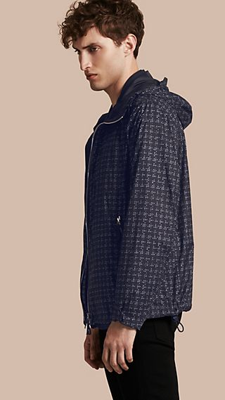 Reversible Lightweight Technical Hooded Blouson
