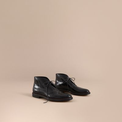 polished-leather-desert-boots by burberry