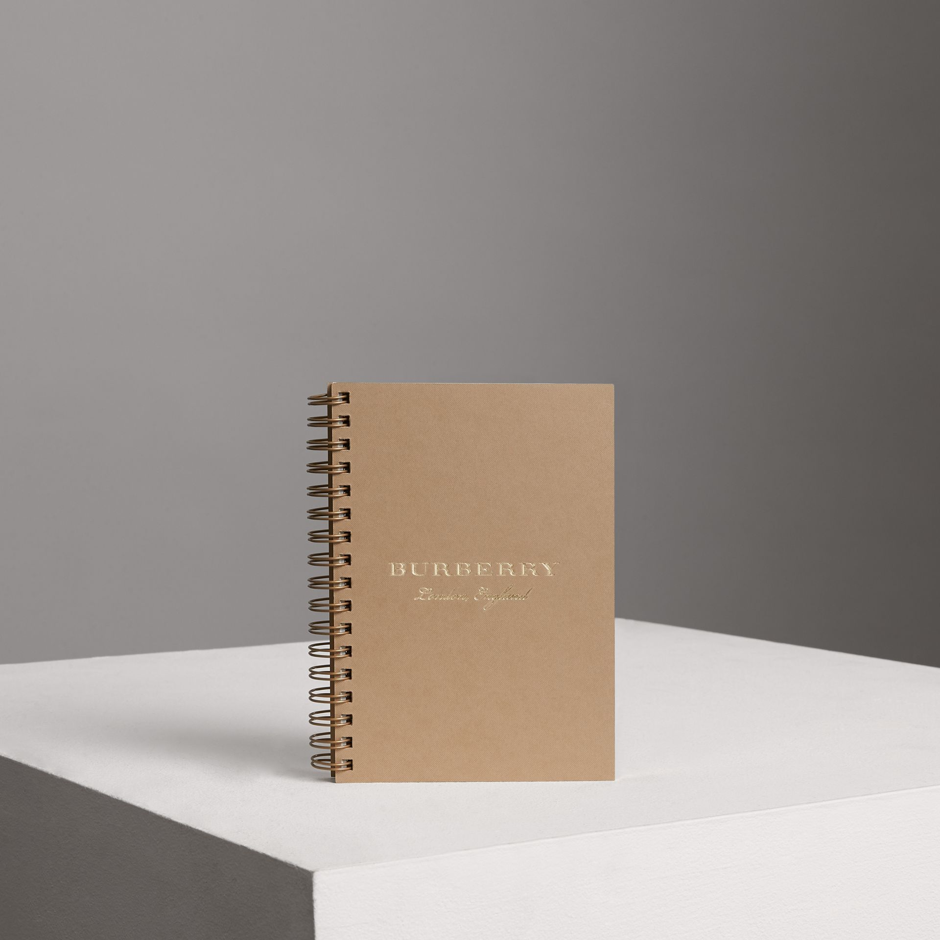 A6 Notebook Refill in Honey | Burberry Singapore - gallery image 0