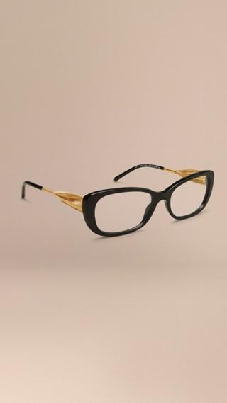 Monture ovale pour lunettes de vue – Collection Gabardine